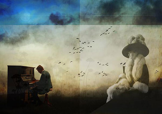 The Pianist by Xavier Ceccaldi
