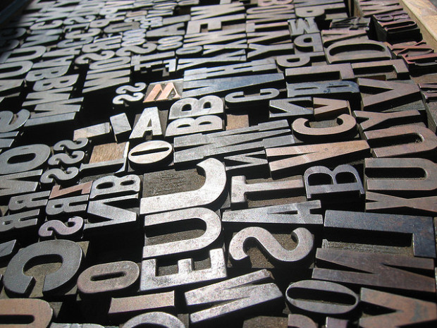 A Sea of Type by Evan P. Cordes
