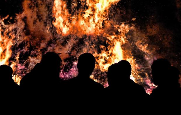 """""""Watching the Fire Burn"""" by Jonny Jelinek"""