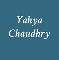 Yahya Chaudhry