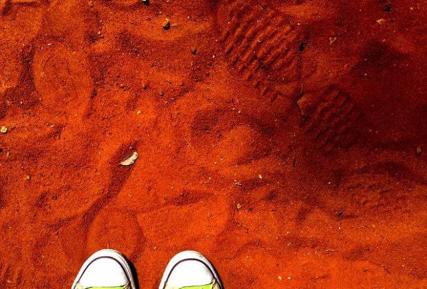 Footprint II by Fran Tapia