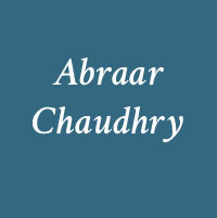 Abraar Chaudhry